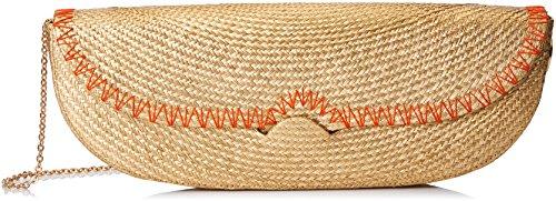 Intropia P914CAR06394, Bolso de Mano para Mujer, Amarillo (Pomelo), 4x12x34 cm (W x H x L)