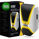 XEDUS Ultrasonic Pest Repeller Plug in - Electromagnetic Pest Reject - Defender Repellent - Electronic Pest Control - Indoor Safe Device - Mosquito, Mice, Ant, Cockroach, Spider, Rat, Bug Insect