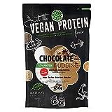 Nature's Finest Pudín de Proteínas con sabor a chocolate 52% edulcorado con Stevia 450g | Postre Pudín de Proteína | Para Veganos y Vegetarianos
