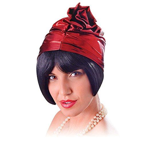 Bristol Novelty BH621 Cloche 20's Chapeau Femme Rouge Taille Unique