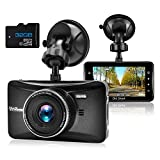 Dash Cam 1080P Full HD 3 Inch Dashboard Camera Car Recorder with 32GB Card...