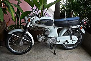 Peel-n-Stick Poster of Motorbike Honda Moped Two Wheeled Motorcycle Puch Vivid Imagery Poster 24 x 16 Adhesive Sticker Poster Print