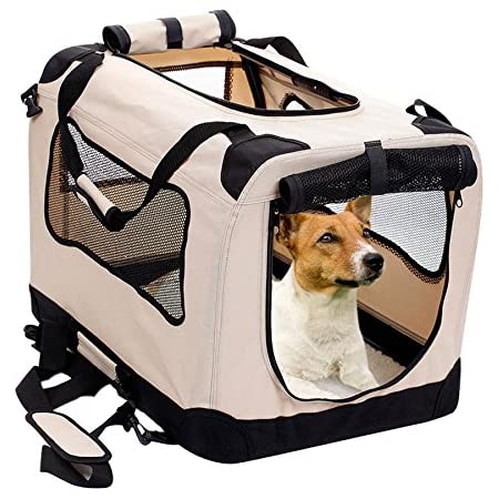 Collapsible Travel Crate 1122 Sunherry Water Resistant Shade Cover Portable Cat Dog Crate Foldable Dog Case Tent for Dogs//Cats//Rabbit