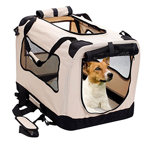 2PET Foldable Dog Cratei Kennel
