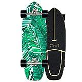 Surfskate Skateboard Carving Carving Pumpping Surf Skate Cruiser Boards, Completo arce tablero 78×24cm, Rodamientos de Bolas ABEC-11 Alta velicidad, 7 capas arce, para principiantes y profesionales,C