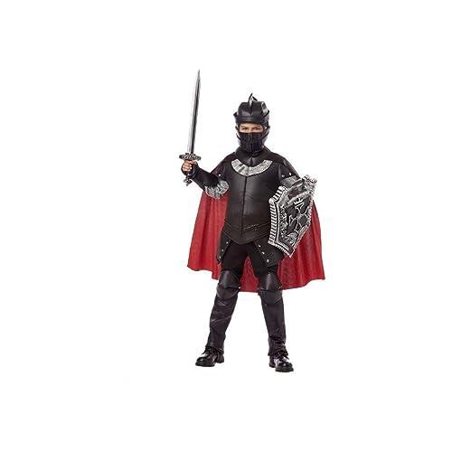 Child Black Knight Costume Sword and Shield Set