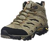 Merrell - Moab Mid Gtx, Scarpe Da Trekking da uomo, Grigio/Marrone, 41 EU
