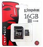 Kingston 4 GB Clase 4 tarjeta de memoria micro SD para Mobis