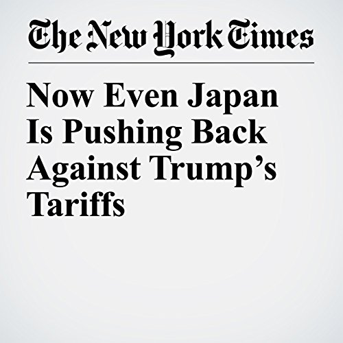 Now Even Japan Is Pushing Back Against Trump's Tariffs copertina