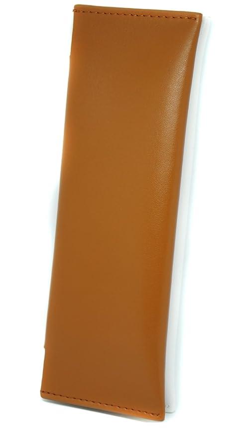 謎十分にファウル極上レザー 牛革 ケース 全部入る PloomTECH ホワイトブラウン ME0197_c3