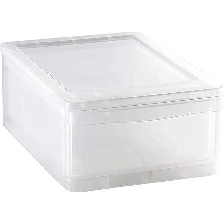 Sundis 4113003 CLEAR DRAWER, Plastique, Transparent, 8L