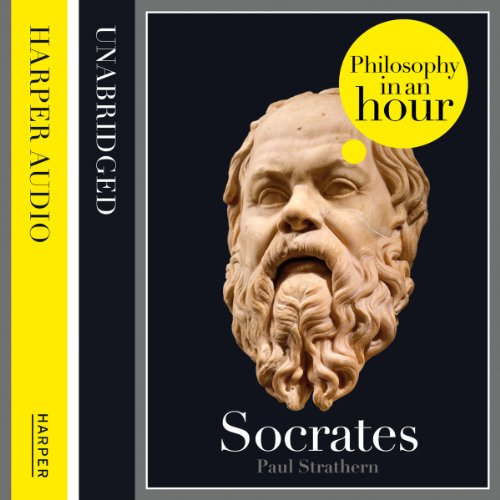 Socrates: Philosophy in an Hour audiobook cover art