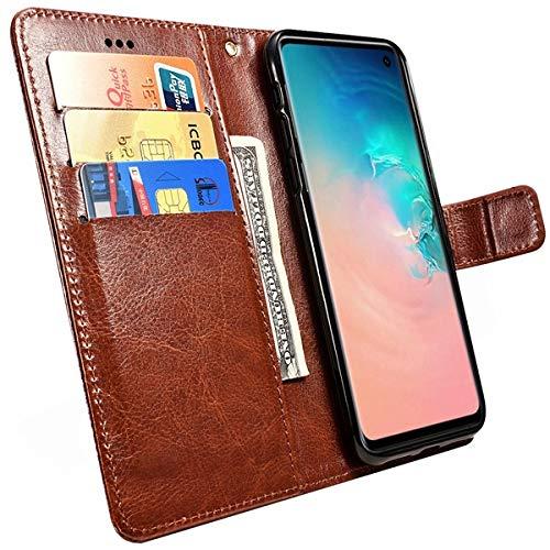 Capa Case Capinha Carteira Para Galaxy S10 + Plus Premium