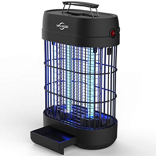 VIFLYKOO Elektrischer Insektenvernichter,Insektenfalle Mückenlampe 14w 60㎡ mit UV-Licht,Keine giftigen Chemikalien,Wirksam zum Reduzieren Fliegender Insekten für Innen Schlafzimmer und Gärten