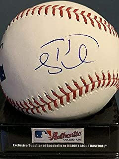 Tim Tebow New York Mets Autographed Signed Oml Baseball - Certified Signature