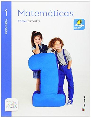 Matemáticas Mochila Ligera. 1 Primaria Saber Hacer: Pack de 3 libros   9788468020174
