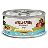 Whole Earth Farms Grain Free Chicken Morsels In Gravy Recipe Canned...