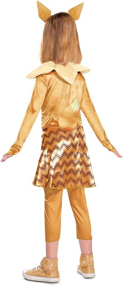 Girl/'s Midi Dress peri Cosplay Pokemon Sylveon Dress Full Set Cosplay Costumes