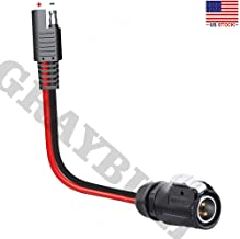 GrayBull 10AWG SAE Adpater Cable to 2 Pin Power Industrial Circular Connector for Solar Panel Suitcase, Fit for Furrion,Forrest River RV Solar Ports,Grand Design RV's Industry