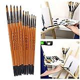 Boji Juego de pinceles para pintar (12 unidades)