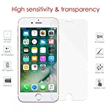 iPhone 6, iPhone 6S Screen Protector Glass, eTECH Collection Tempered Glass Screen Protector for Apple iPhone 6S, iPhone 6 4.7 2015 2014, Touch Accurate, Bubble Free, Case Friendly, Crystal Clear