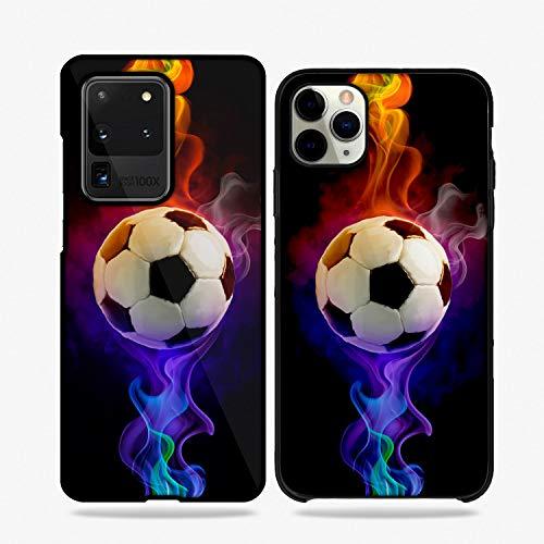 Fundas De Moviles Carcasas De Moviles Funda Carcasa Modelo Diseños de Deportes, Futbol, Soccer Compatible con Huawei P8 Lite (2017)