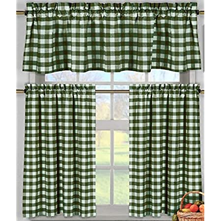 Details about  /Hunter Green Gingham Appliance Cover For Large Mixers quilted fabric