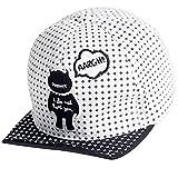 Belsen Niño suave dibujos animados béisbol gorras bebé sombrero de ala plana
