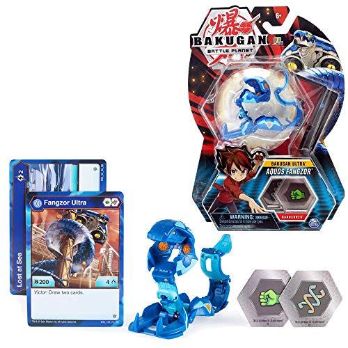 BAKUGAN Ultra Ball Selection Spinmaster | Battle Brawlers Playsets, Bakugan:Aquos Fangzor