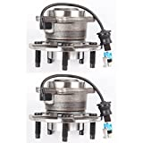 SCITOO 512229 Wheel Bearing and Hub Assembly Rear New Both (2) 2005-2006 for Chevrolet Equinox for Pontiac for Saturn 5 Lugs Hub Bearing Set W/ABS