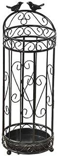 LONGJUAN-C del Supporto dellombrello Portaombrelli casa portaombrelli in Ferro battuto di stoccaggio Nero portaombrelli Portaombrelli