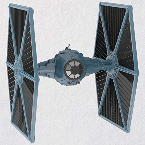 Hallmark Keepsake Christmas Ornament 2018 Year Dated, Star Wars TIE Fighter with Light and Sound