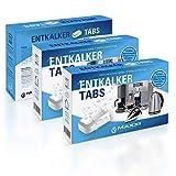 Maxxi Clean 3x50 Entkalker-Tabs, Kalklöser und Kalkreiniger als Allzweckreiniger zur Reinigung für...