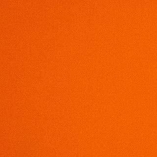 Robert Kaufman Canyon Colored Denim 6 Oz Fabric by The Yard, Orange