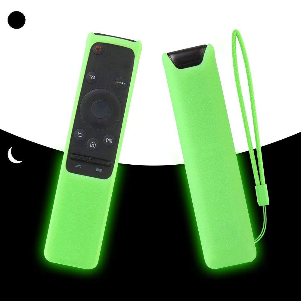 SIKAI CASE Glow in Dark - Funda Adapta Compatible con Samsung BN59-01259D BN59-01259B BN59-01259E BN59-01260A Remote Control, Antideslizante Agradable Protege: Amazon.es: Electrónica