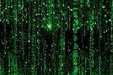 1art1 Matrix - Matrix Code, Grüner Regen XXL Poster 120 x