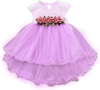 Noubeau Toddler Baby Girls Party Dress Tulle Cap Lace Sleeveless Princess Tutu Wedding Skirt Outfit
