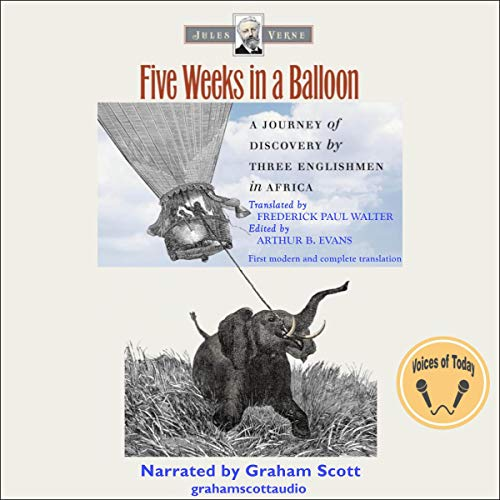 Five Weeks in a Balloon  By  cover art