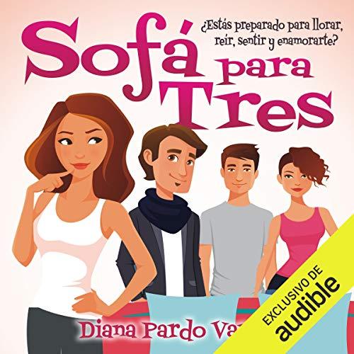 Diseño de la portada del título Sofá para Tres