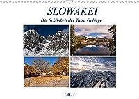 Slowakei - Die Schoenheit der Tatra Gebirge (Wandkalender 2022 DIN A3 quer): Die schoensten Seiten der Slowakei in einem Streifzug durch die Jahreszeiten. Erleben Sie unter anderem den Winter an der Hohen Tatra, das Slowakische Paradies im Sommer, die Stadt Neusohl und vieles andere mehr. (Monatskalender, 14 Seiten )