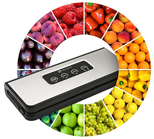 Vacuum Sealer Machine for Food Saver Bags - Vaccume Sealer Machine - Food Sealer Vacuum Packing Machine - Food Vacuum Sealer - Seal a Meal Vacuum Food Sealer - Vacume Sous Vide Sealing Vaccum System