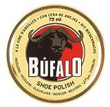 Bufalo Shoe Polish Schuhpolitur mit Bienenwachs 75 ml (EUR 5,32 / 100ml) (Farblos)