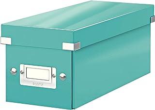 LEITZ 60410051 - Caja CD Box (143x147x352 mm) color turquesa