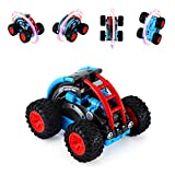 Remote Control Car RC Stunt Car NICEAO 2.4 Ghz High Speed Toy Truck - All Terrain Waterproof RC Truck Car for Boys & Girls RC Cars with Rechargeable Batteries (Blue)