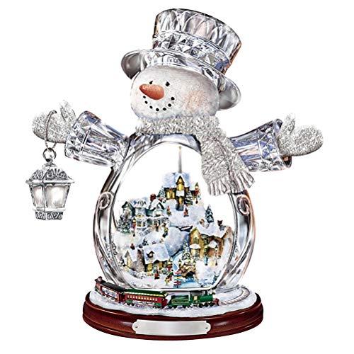 3D Navidad ventana se aferra cristal muñeco de nieve pegatinas adornos pegatinas para el hogar oficina invierno Wonderland vacaciones decoraciones