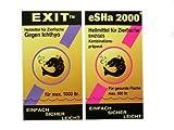 Heilmittel Set für Zierfische eSHa Exit 20ml & eSHa 2000