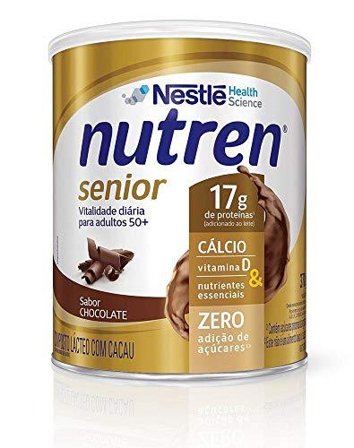 Suplemento Alimentar NUTREN SENIOR Chocolate 370g Nutren Sabor 370g