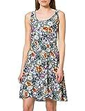 Only Onlnova Life S/L SARA Dress AOP WVN 7 Robe, Chinois Green/AOP:Dreamy Garden, 38 Femme