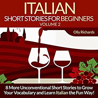 Couverture de Italian Short Stories for Beginners, Volume 2 [Italian Edition]