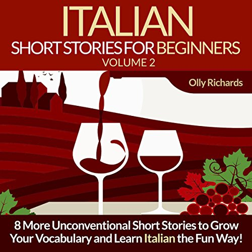 『Italian Short Stories for Beginners, Volume 2 [Italian Edition]』のカバーアート